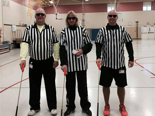 Three Blind Refs