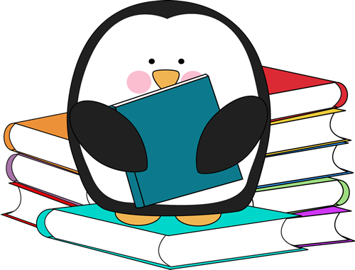reading penguin